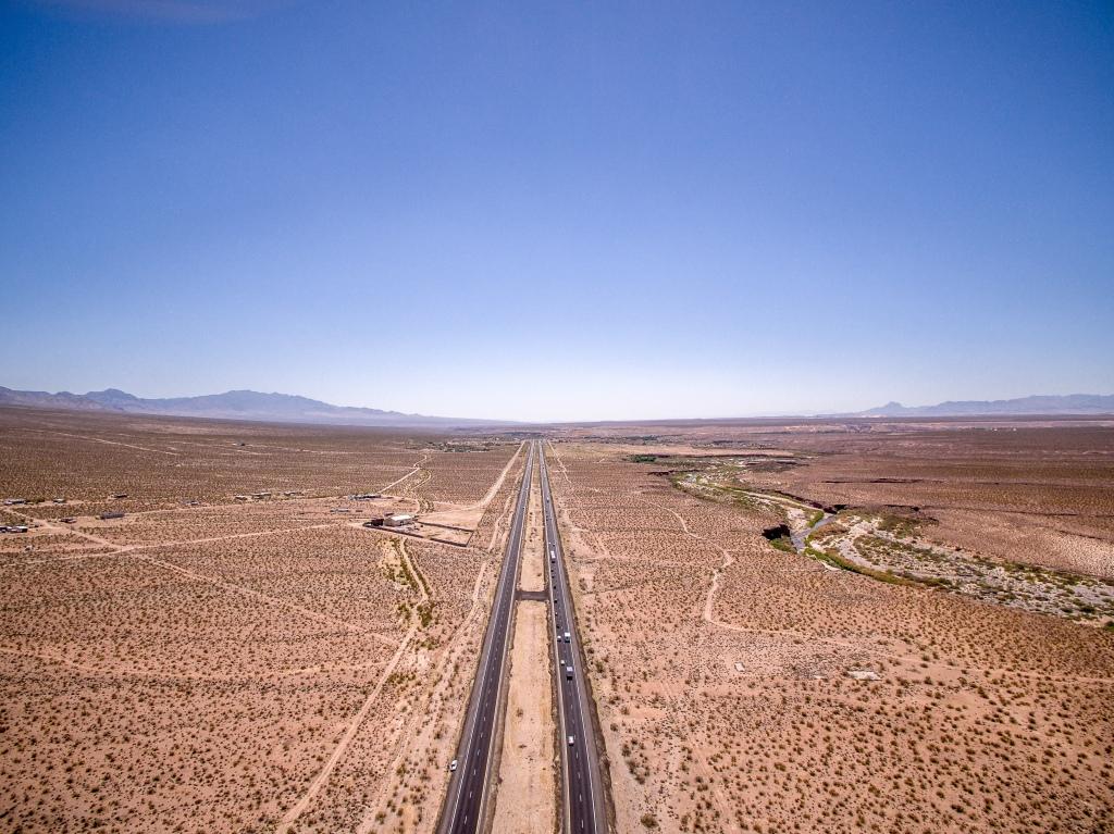 Vast desert